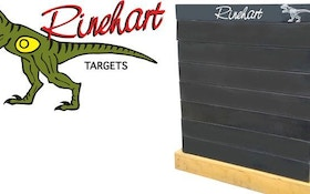 Rinehart Introduces Brick Wall Indoor Range Target