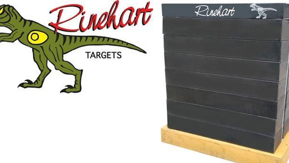 Rinehart Introduces Brick Wall Indoor Range Target