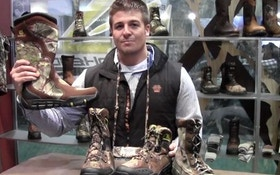VIDEO: Turkey boots and gear from Rocky Boots