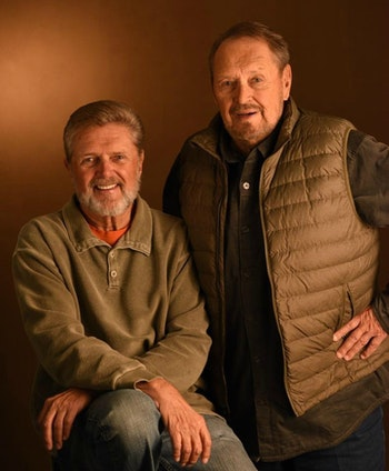 Al and Ron Lindner