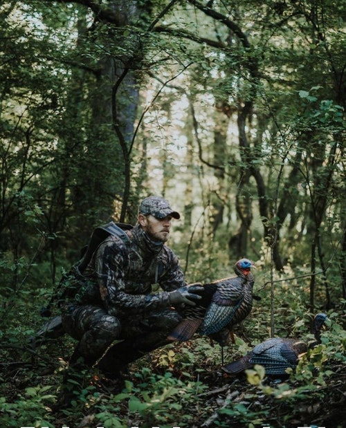 The late-season turkey woods is full of foliage, which can result in quick opportunities at birds inside 20 yards. Hunters using a super-full choke must be dead-on with their aim or they'll miss.