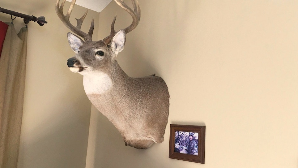 Hang Framed Photos Beside Your Trophy Mounts