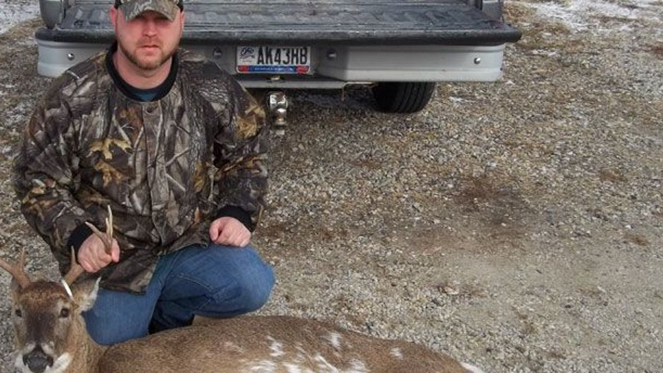 Whitetail Journal Reader Takes Rare Ohio Piebald Buck