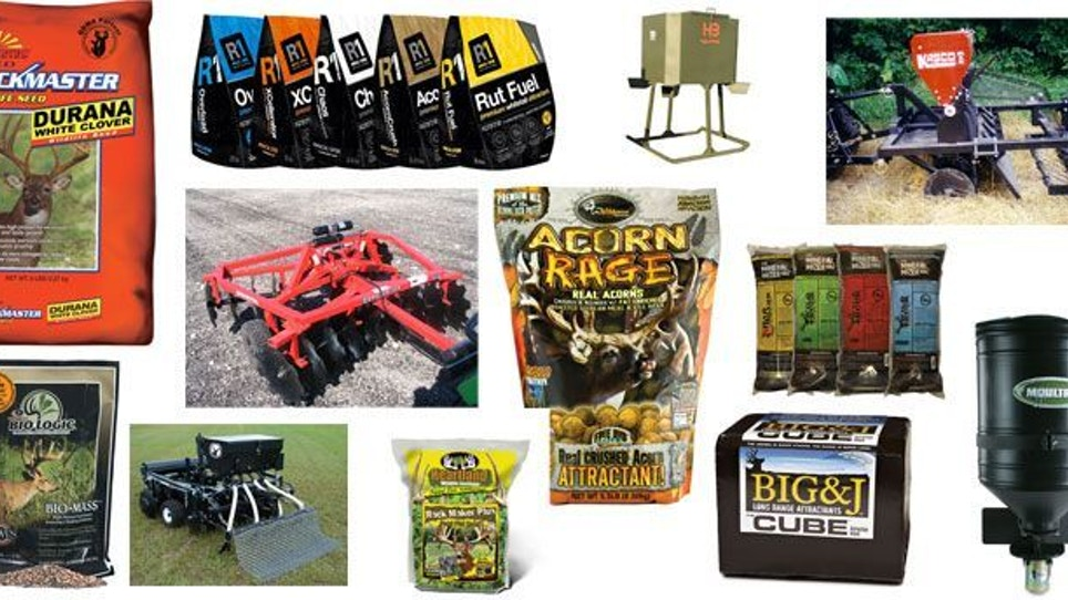 Gear Guide: What's new in seed minerals, food plots & attachments