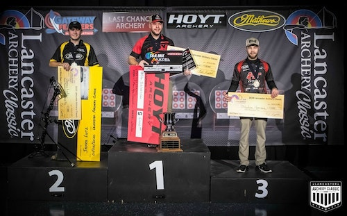The Men's Open Pro podium was topped by Mike Schloesser in first, Jimmy Lutz in second and Stephan Hansen in third.