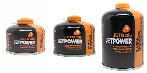 Jetpower Fuel comes in three convenient sizes.