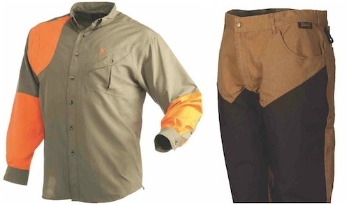 Browning Shirt and Gamehide Upland Pant