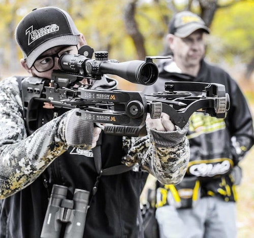 Mission Crossbows shooters such as Daniel Zintgraff depend on the SUB-1 in competition. The bow is very popular among whitetail deer hunters, too.