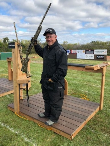 David Miller, Shotgun Product Manager for CZ-USA and pro shooter.