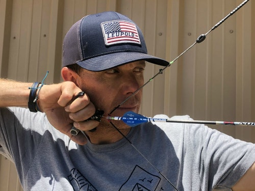 Achieving perfect draw length is quite possibly the most important piece of the accuracy puzzle. Tiny draw-length adjustments can be made by adding twists to the string or cables.