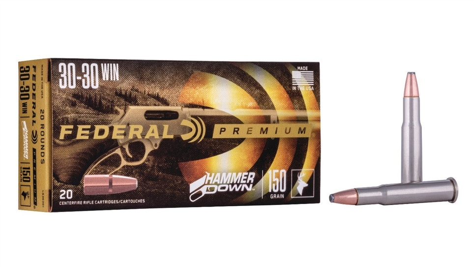Federal HammerDown Lever-Action Hunting Ammo