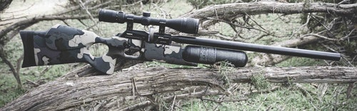 The FX Crown is one of the author's favorite high-end PCP rifles.