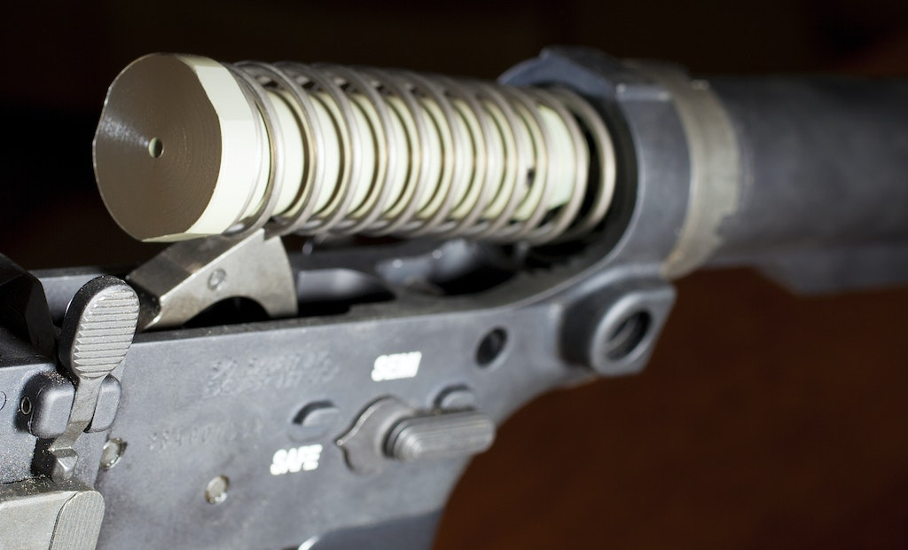 How To Remove or Replace a Buffer and Buffer Spring on an AR Rifle