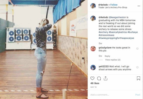 Marketing to young consumers can be done via Instagram, where 90 percent of the time the app is accessed via mobile phone.