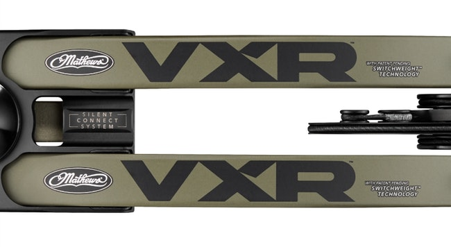 New-for-2020 Mathews VXR Compound Bow