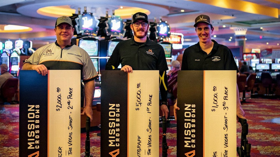 Mission Crossbows Sweeps Podium at The Vegas Shoot