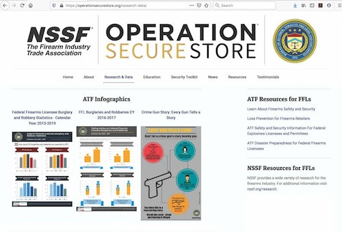 The NSSF's Operation Secure Store resources are mostly available at no cost. Visit www.operationsecurestore.org and take the self-risk assessment.