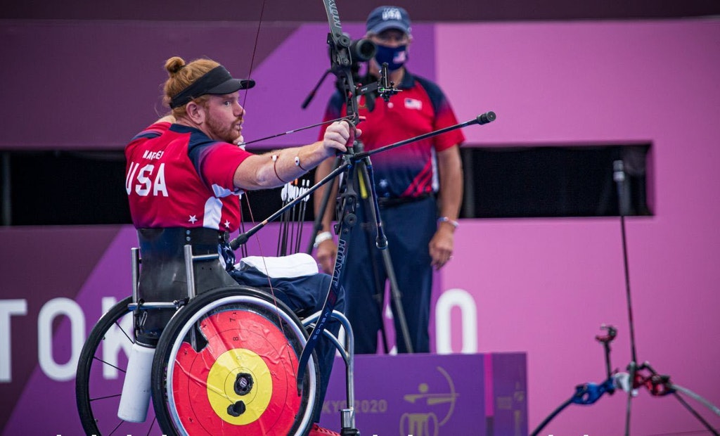Team USA Archer Kevin Mather Wins Paralympic Gold
