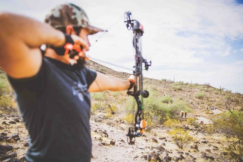 Heavier arrows provide more energy and momentum than lighter arrows but lack speed downrange.