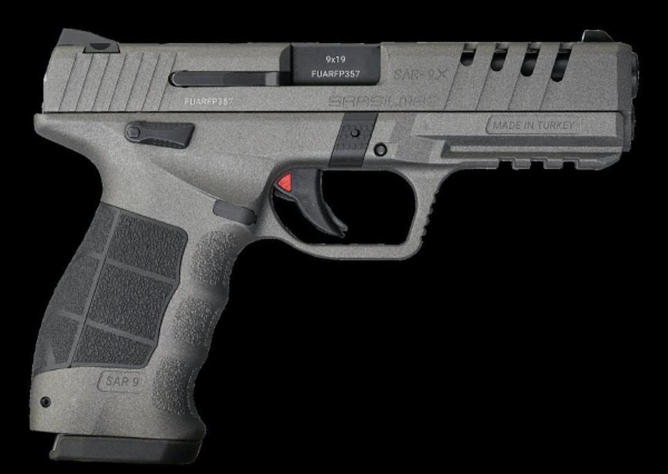 SAR USA   SAR9 X Platinum 9mm Pistol