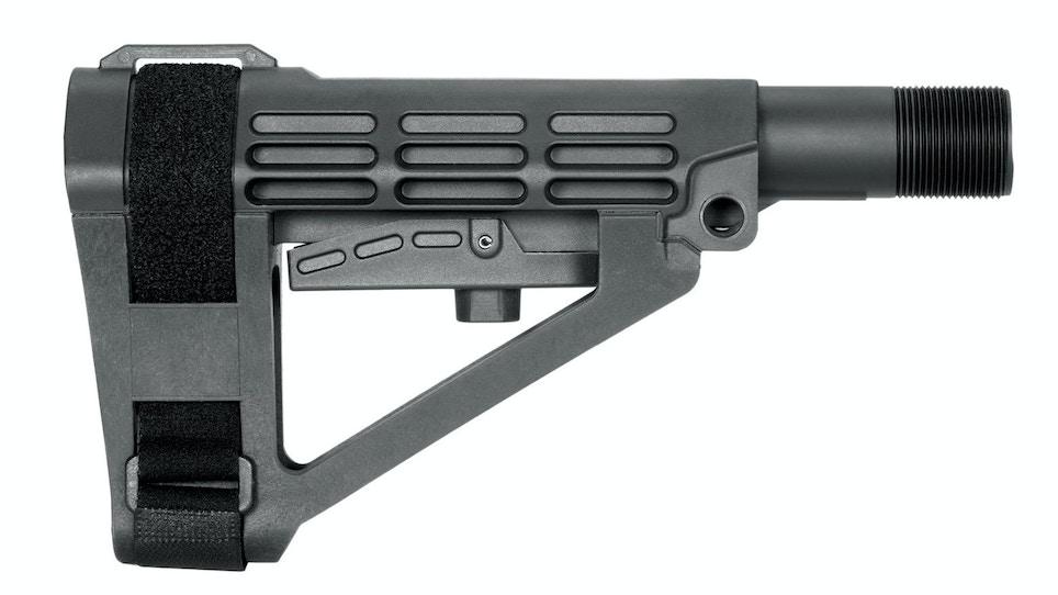 SBA4 Adjustable Pistol Stabilizing Brace Now Available