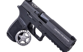 Sig Sauer Releases Texas Ranger Limited Edition P320 Full Size Pistol
