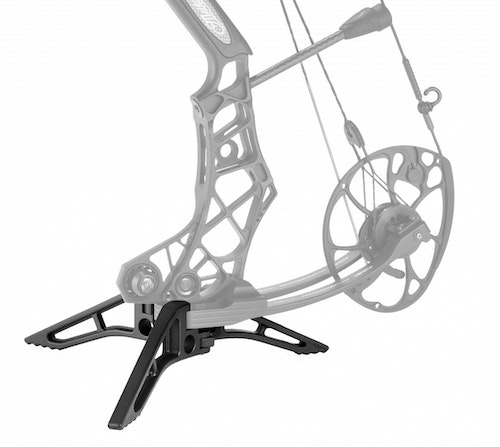 Mathews Engage Limb Legs balance a bow while keeping the cam off the ground.