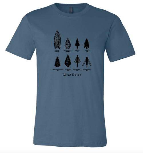 You've heard of kingmakers? Well, MeatEater is a tribe maker. They've groomed a tribe of consumers built on trust, loyalty, affection and aspiration. T-shirts like this one, available on the MeatEater website, sell not because someone needs another t-shirt. They sell because wearing one is symbol of what someone chooses to stand for.