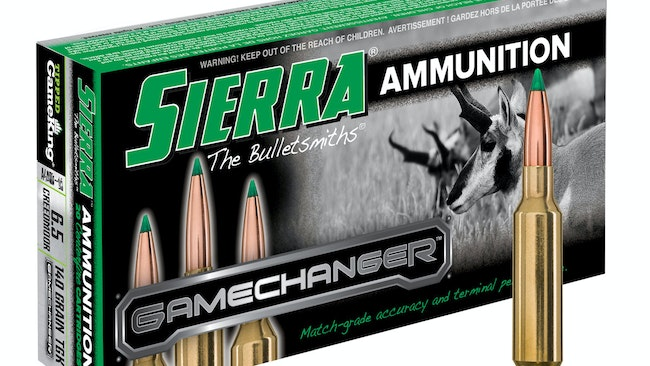 Sierra Introduces 6.5 Creedmoor GameChanger