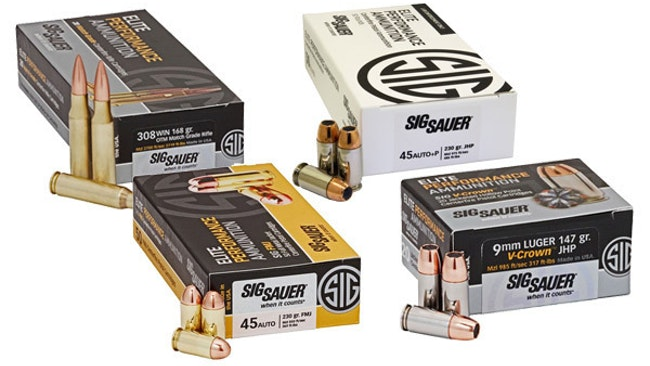 Department of Homeland Security Awards Ammunition Contract to Sig Sauer