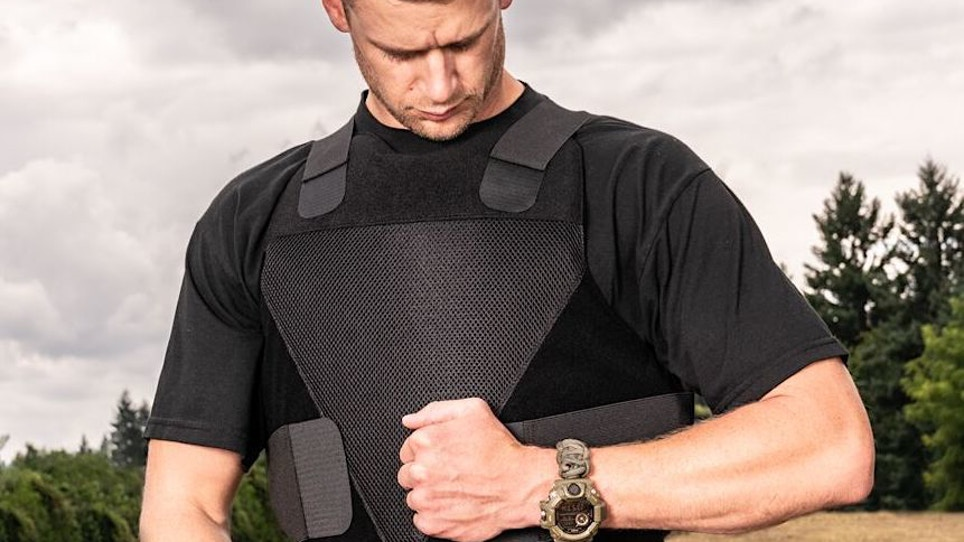 Spartan Armor Systems Concealable Wraparound Vest