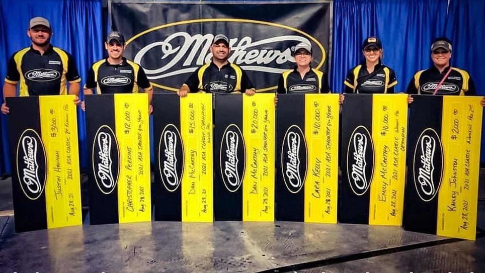 Team Mathews Wins Three 2021 ASA Shooter of the Year Titles