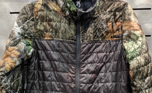 Technical camo clothing is popular among hunters.