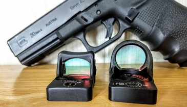 Range Report: Trijicon's SRO Pistol Red Dot
