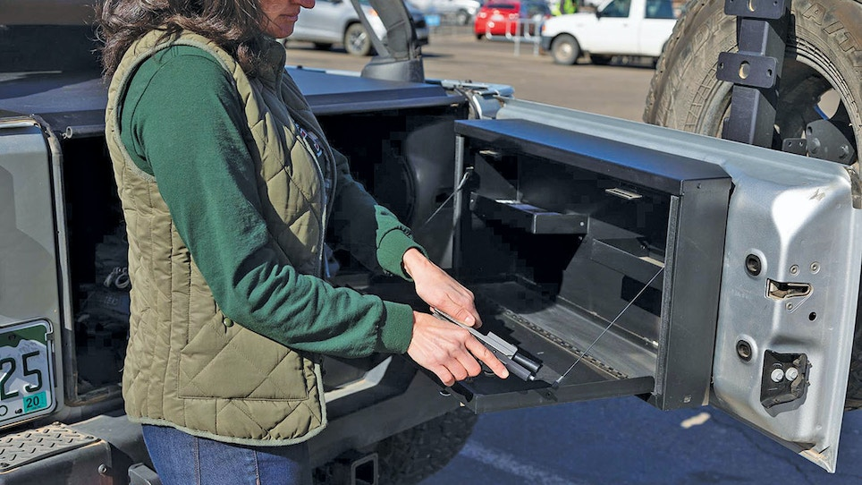 Cash In on Vehicle Firearms Security Concerns