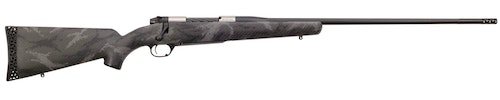 The new Weatherby Mark V Backcountry Ti features a titanium receiver and weighs only 4.9 pounds.