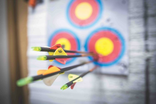 A clean, well-lit archery range, staffed by an archery pro, can be a step-up from what the box stores are able to provide.