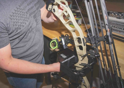 Pro shop technicians can become proficient bow balancers after working on a handful of similar bow models.