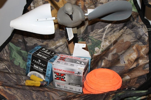 Dove decoys are a strong accessory category, in addition to the obvious need — shotgun shells.