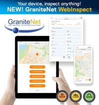 CUES GraniteNet WebInspect Inspection App