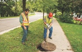 Utility Takes Care of Sewer Overflows