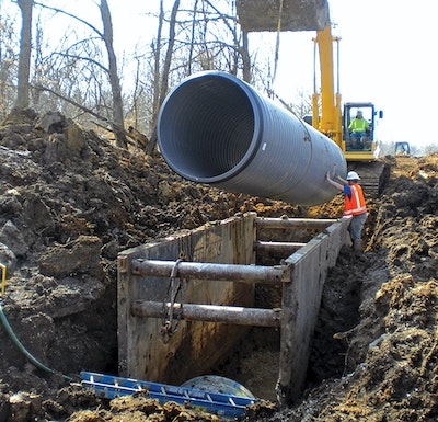 Draining the Swamp: Pipeline Replacement Project Takes on Dewatering Challenges