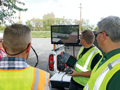 Utility Gets Drone's-Eye View of Inflow and Infiltration