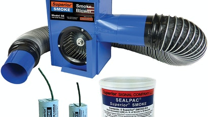 Superior 5-E Electric Smoke Blower Finds Faults, Odors, Leaks and Inflow