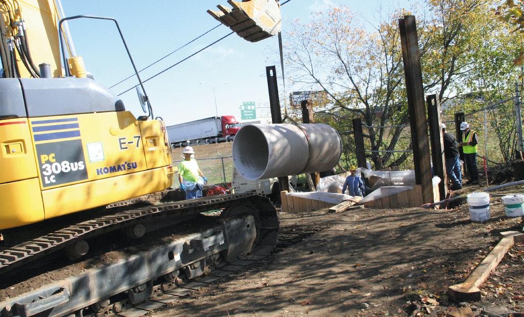 Wastewater Utility Employs Sliplining to Fix Corroding Pipe