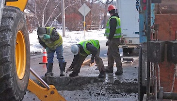 Going in the Hole: Water Utility Crews Take on Main Break Season