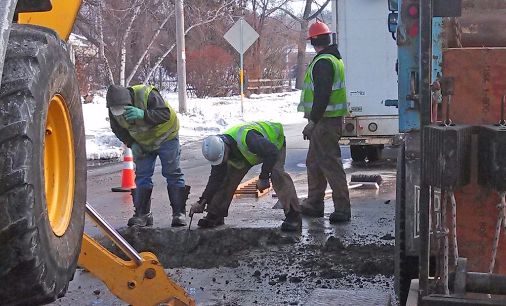 Going in the Hole: Water Utility Crews Take on Main Break Season