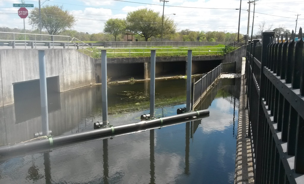 Custom-Made Device Keeps Florida Canals Clean