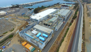 Nation's Largest Desalination Plant Now Online