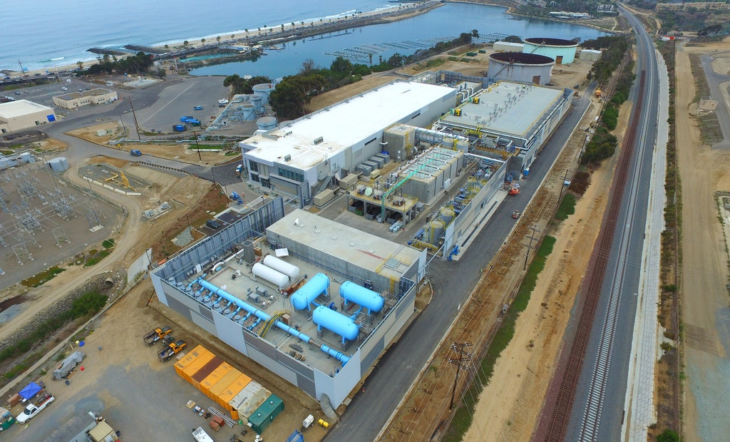Nation's Largest Desalination Plant Now Online